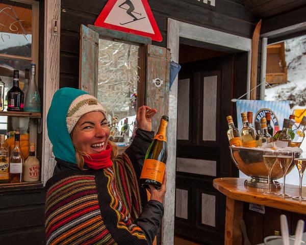 Photograph - Taimi In Zermatt Switzerland by Brenda Jacobs