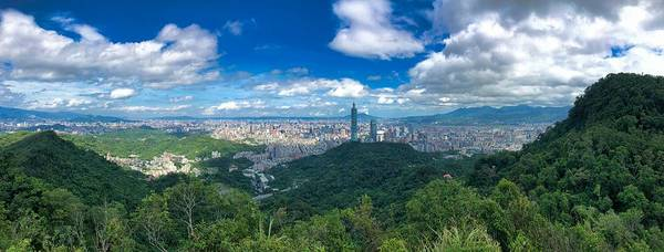 Photograph - Taipei Panorama by Brian Eberly