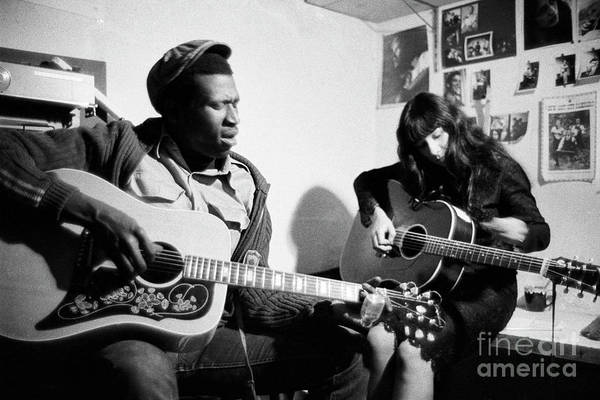 Wall Art - Photograph - Taj Mahal And Buffy Sainte-marie  by The Harrington Collection