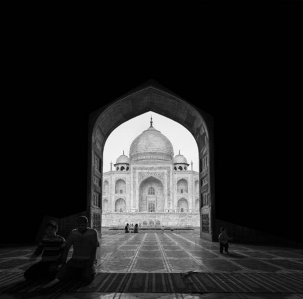 Domes Wall Art - Photograph - Taj Mahal by Basem Al-qasim