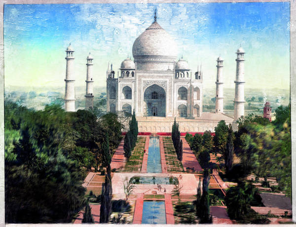 Photograph - Taj Mahal by Carlos Diaz