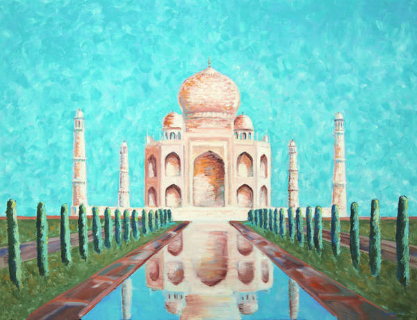 Painting - Taj Mahal by Elizabeth Lock