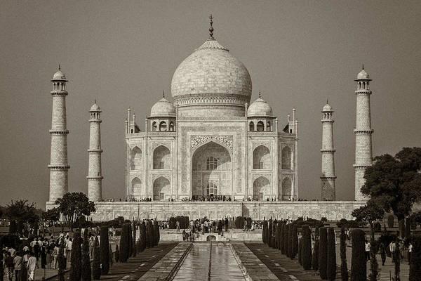 Photograph - Taj Mahal by Hitendra SINKAR