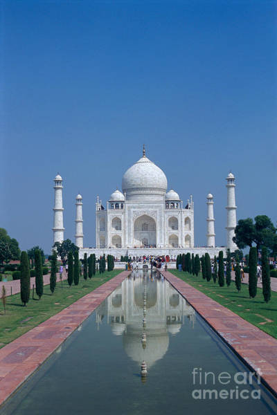 Gloria Photograph - Taj Mahal View by Gloria & Richard Maschmeyer - Printscapes