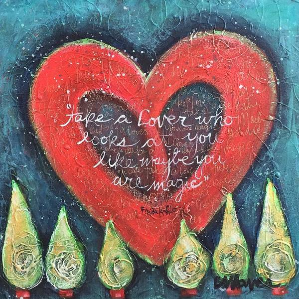 Painting - Take A Lover by Laurie Maves ART