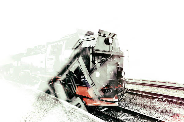 Wall Art - Photograph - Take A Ride On The Ghost Train by Rabiri Us