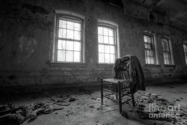 Wall Art - Photograph - Take A Seat Bw by Michael Ver Sprill