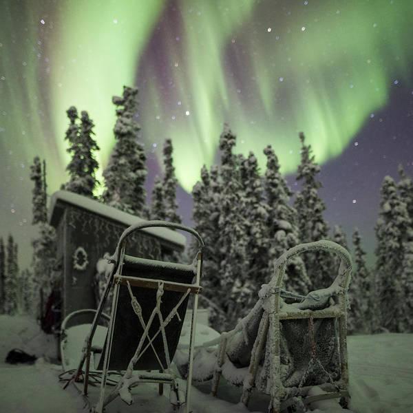 Photograph - Take A Seat For The Aurora Custom 1x1 by Ian Johnson