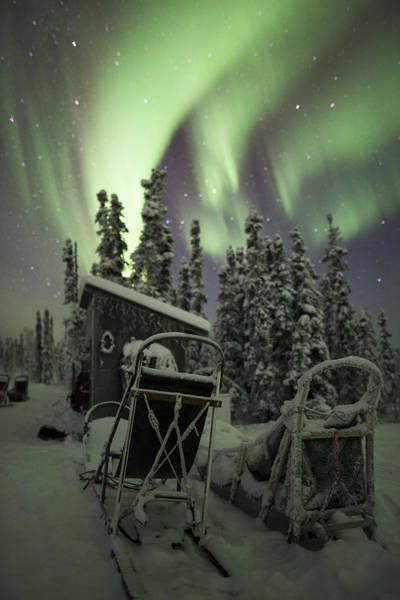 Photograph - Take A Seat For The Aurora by Ian Johnson