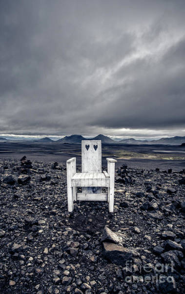 Wall Art - Photograph - Take A Seat Iceland by Edward Fielding