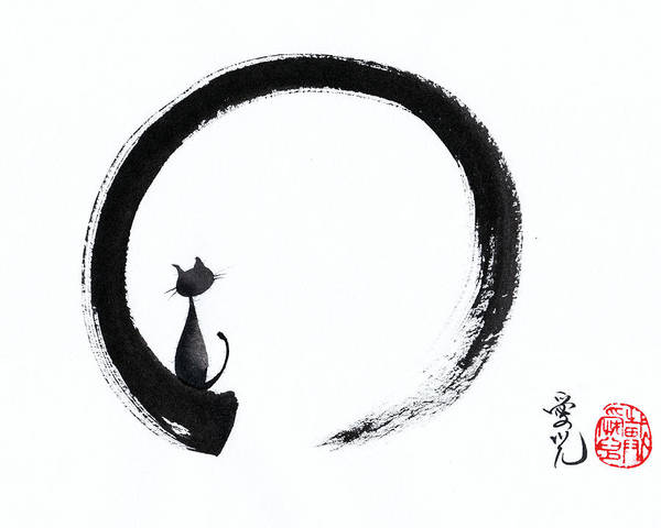 Painting - Take A Tranquil Look by Oiyee At Oystudio