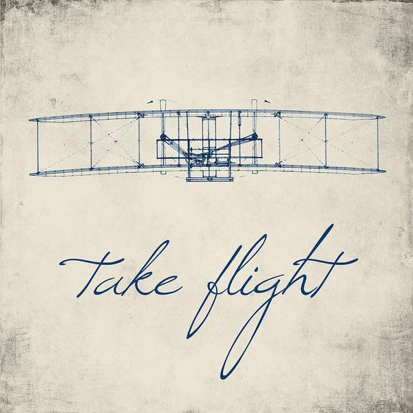 Words Digital Art - Take Flight by Brandi Fitzgerald