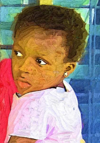 Ghana Painting - Take  Me Home by Deborah Selib-Haig DMacq