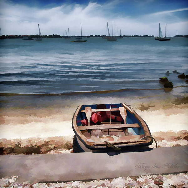 Digital Art - Take Me Out by Jacqueline Sleter