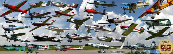 Photograph - Take-off Panorama Revised 6 23 17 by Jeff Kurtz
