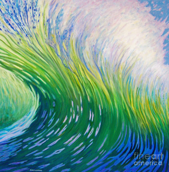 Oceanscape Painting - Take That Ride by Brian  Commerford