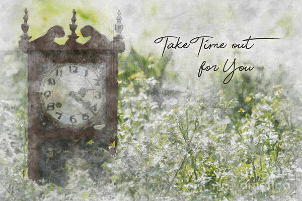 Photograph - Take Time Out For You by James Hennis