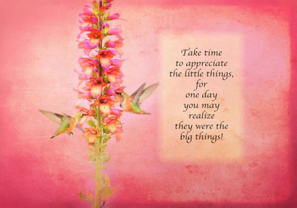 Photograph - Take Time - Pink by Lynn Bauer
