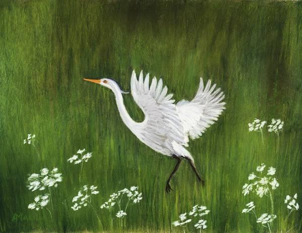 Painting - Takeoff by Anastasiya Malakhova