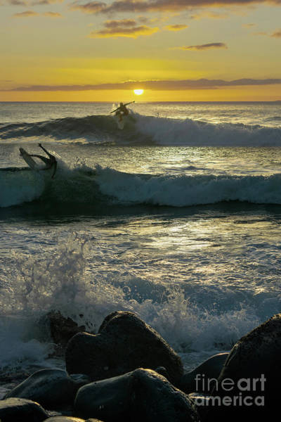 Napili Bay Photograph - Takes Two To Surf by RJ Bridges