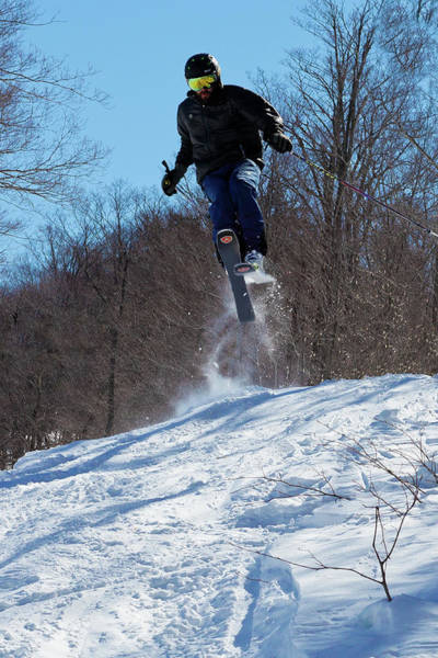 Photograph - Taking Air On Mccauley Mountain by David Patterson