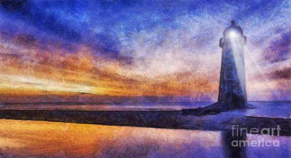 Photograph - Talacre Lighthouse by Ian Mitchell