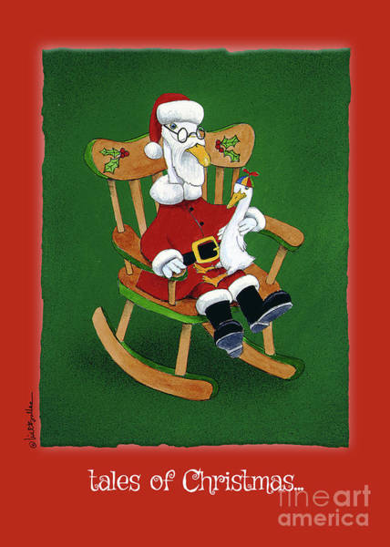 Painting - tales of Christmas... by Will Bullas