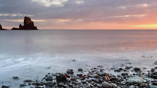 Photograph - Talisker Point At Sunset by Maria Gaellman