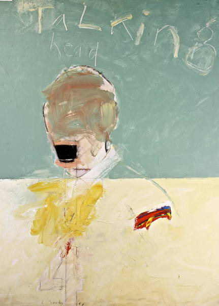 Painting - Talking Head by Cliff Spohn