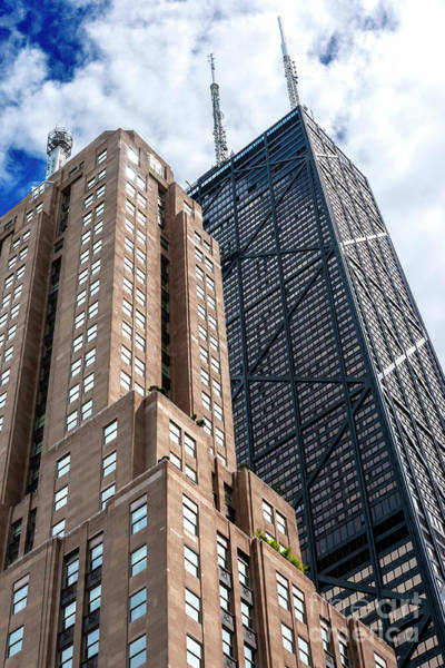 Photograph - Tall Buildings In Chicago by John Rizzuto