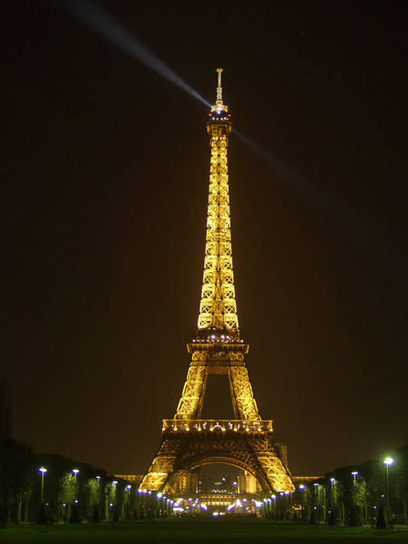 Photograph - Tall Eiffel Tower by Mark Currier
