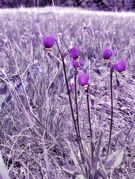 Digital Art - Tall Flowers 3 by Susan Kinney