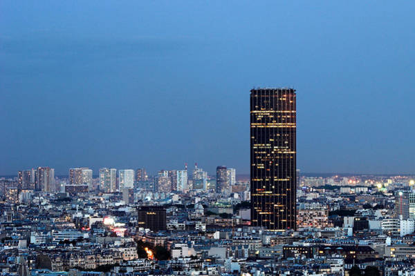 Photograph - Tall Montparnasse Tower Paris by Pierre Leclerc Photography