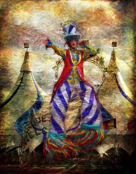 Photograph - Tall Performer by Pete Rems