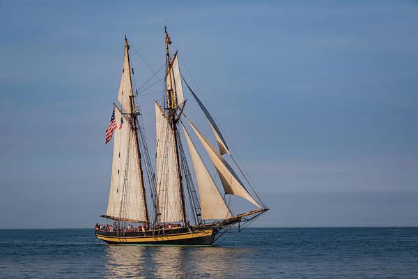 Pride Festival Photograph - Tall Ship Pride Of Baltimore II by Dale Kincaid