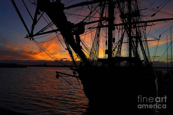 Wall Art - Photograph - Tall Ship by Rick Mann