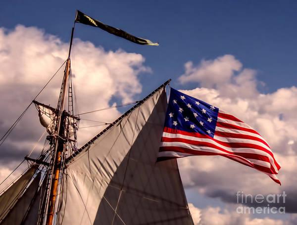 Digital Art - Tall Ship Sails 8 by Kathryn Strick