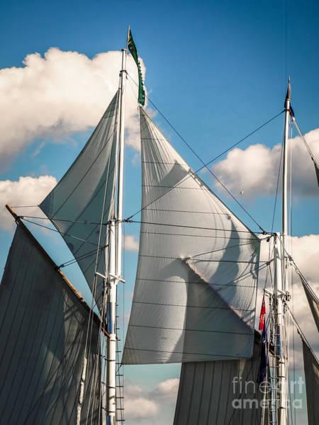 Digital Art - Tall Ship Sails IIi by Kathryn Strick