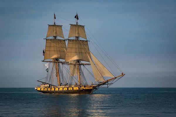 Tall Ship U.s. Brig Niagara Art Print