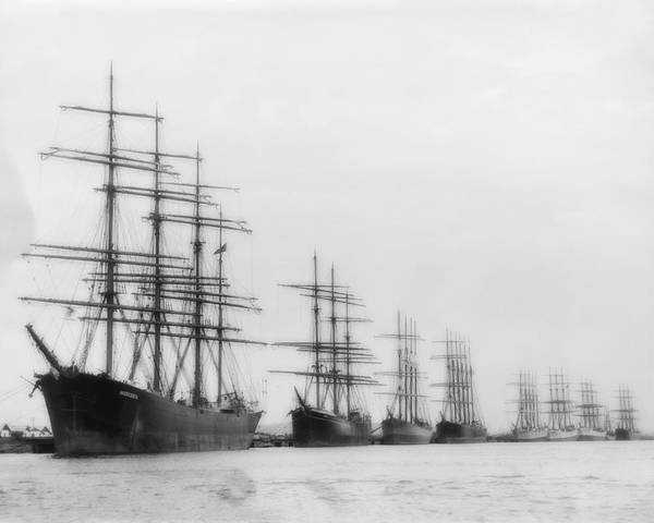 Photograph - Tall Ships At Rest by John Feiser