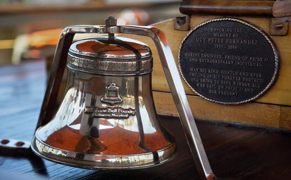 Photograph - Tall Ships Bell by Dale Kincaid