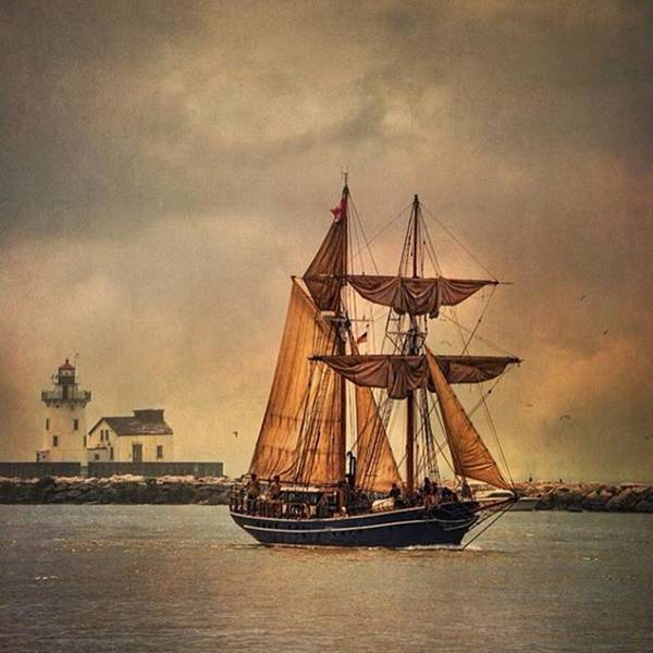 Fineart Wall Art - Photograph - Tall Ships In Cleveland. #cle #fineart by Dale Kincaid