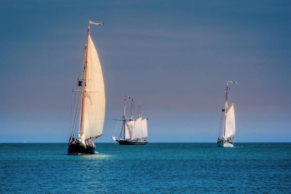 Photograph - Tall Ships Lake Erie - Fairport Harbor by Jack R Perry