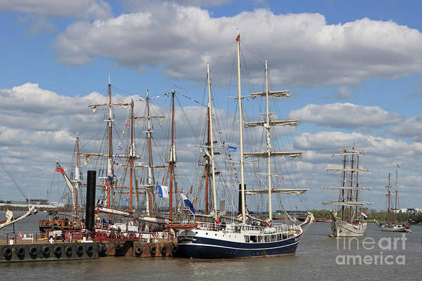 Photograph - Tall Ships Regatta Woolwich 2017 by Julia Gavin