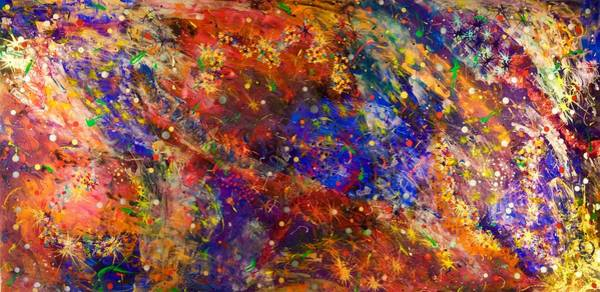 Wall Art - Painting - Tall Space 15-12 by Patrick OLeary