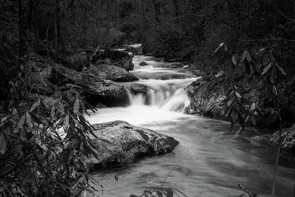 Photograph - Tallulah River In Bw by Doug Camara
