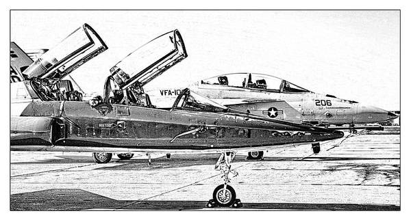 Wall Art - Photograph - Talon Vs. Hornet by Ricky Barnard