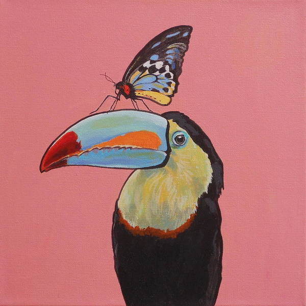 Painting - Talula The Toucan by Sharon Cromwell