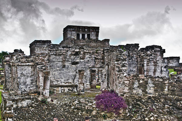 Solidity Photograph - Talum Ruins 6 by Douglas Barnett