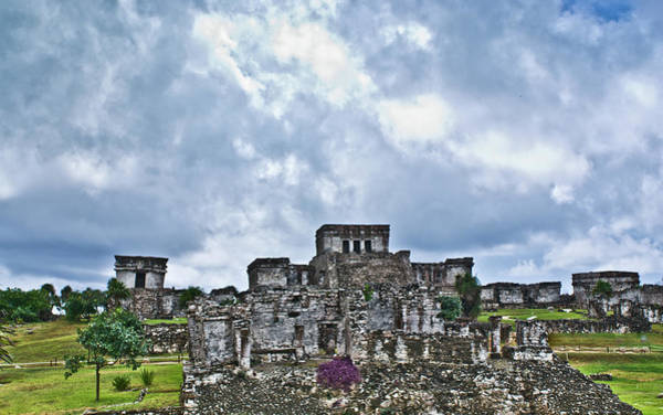 Wall Art - Photograph - Talum Ruins 8 by Douglas Barnett
